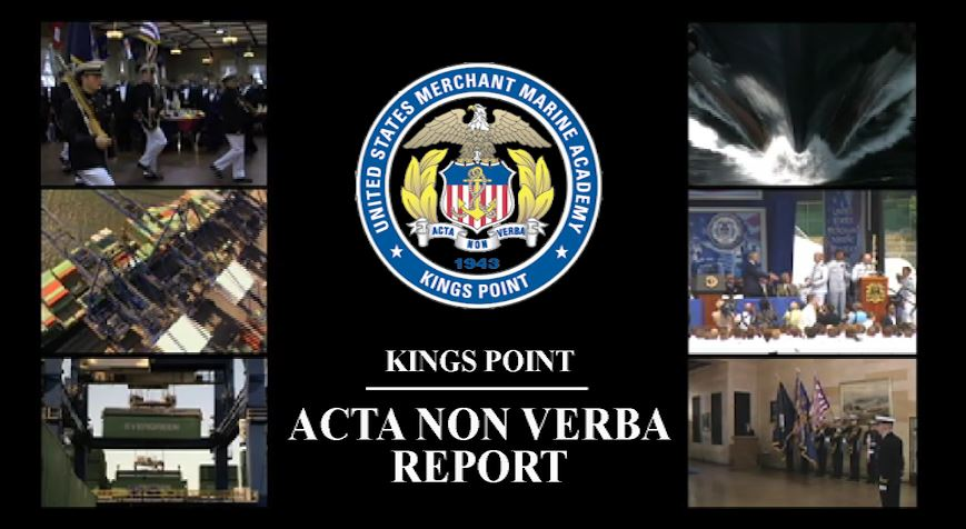 <strong><h2>The Kings Point Acta Non Verba Report</h2></strong>